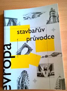Náhled titulní strany knížky Stavbařův průvodce Evropou