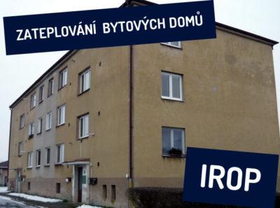 IROP zvýší podporu na zateplení bytových domů