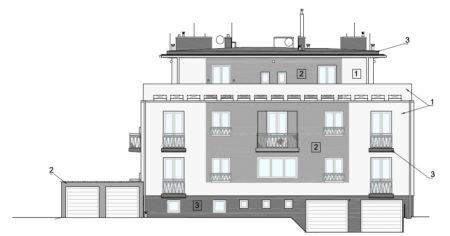 Projekt zateplení bytového domu v Praze 6 - Bubenči